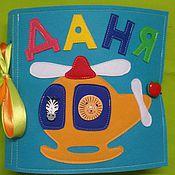 Куклы и игрушки handmade. Livemaster - original item Soft developing book. Handmade.