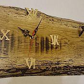 Для дома и интерьера ручной работы. Ярмарка Мастеров - ручная работа Часы дубовые. Handmade.