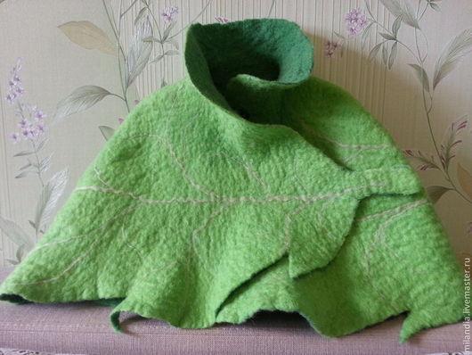 """Болеро, шраг ручной работы. Ярмарка Мастеров - ручная работа. Купить Болеро """"Фея Динь-Динь"""". Handmade. Зеленый"""