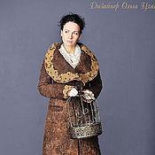 Одежда handmade. Livemaster - original item Handmade Felted coat Filigree. Handmade.