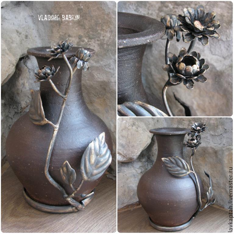 "Jug ""Autumn Flower"", Vases, Voronezh,  Фото №1"