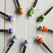 Посуда ручной работы. Ярмарка Мастеров - ручная работа Вкусные ложки и ложки с декором. Handmade.