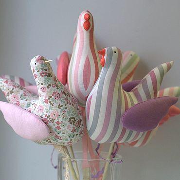 Куклы и игрушки ручной работы. Ярмарка Мастеров - ручная работа Пасхальные курочки. Handmade.