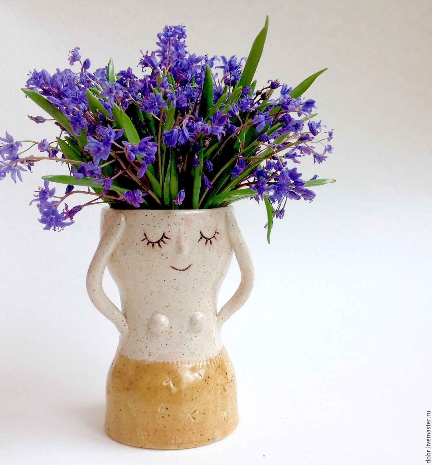 Ceramic vase shop online on livemaster with shipping ceramic vase natalia dobrzhanskayadobrceramics online shopping on my reviewsmspy