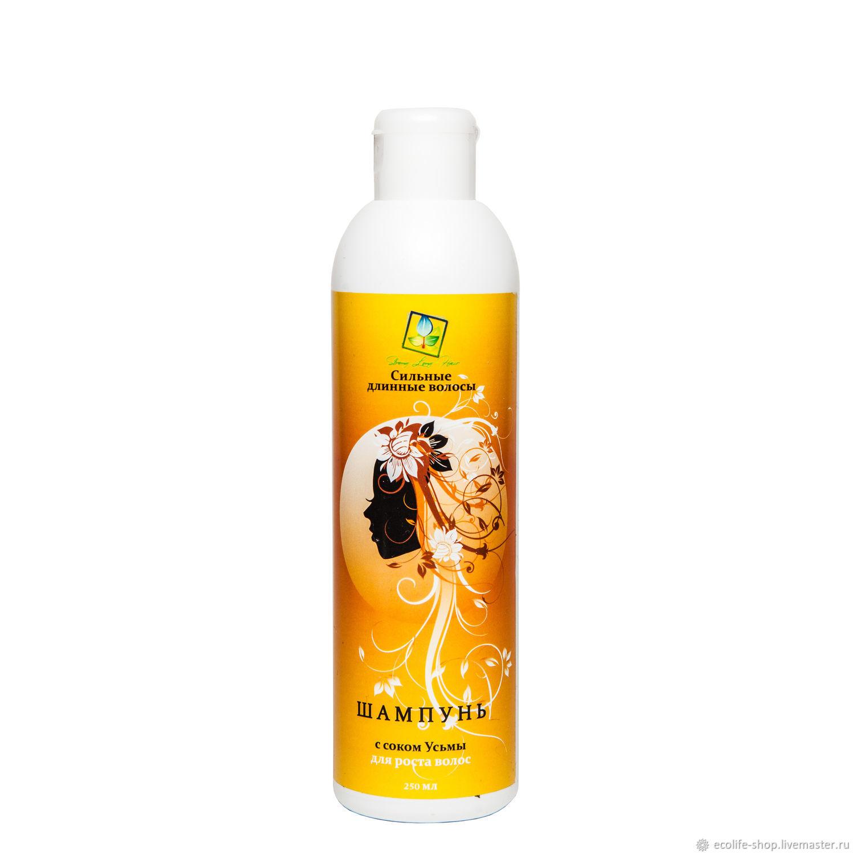 Shampoo with Usma juice for hair growth, Shampoos, Moscow,  Фото №1
