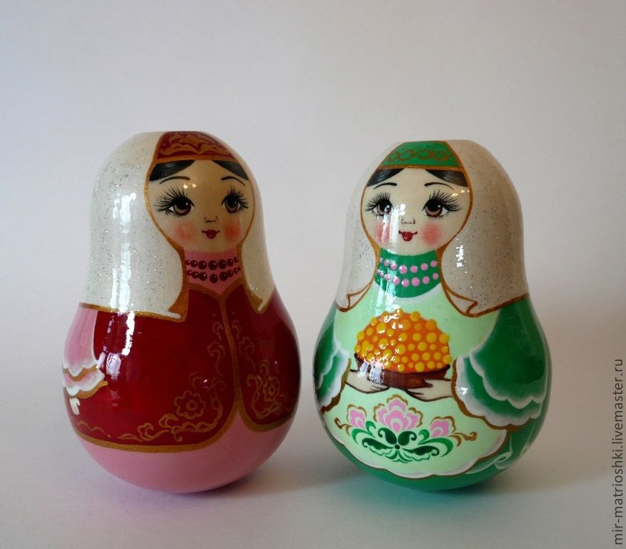 Tumbler 'Tartar' (with bells), Dolls1, Sarov,  Фото №1