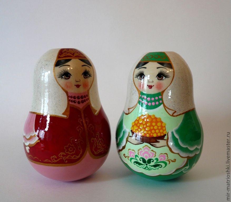 """Неваляшка """"Татарка"""" (со звоном), Матрешки, Саров, Фото №1"""