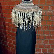 Аксессуары handmade. Livemaster - original item Drape blanket felted (bilateral). Handmade.