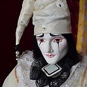 Куклы и игрушки handmade. Livemaster - original item dolls Pierrot. Handmade.