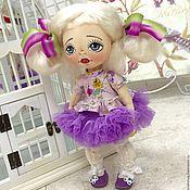 Куклы и игрушки ручной работы. Ярмарка Мастеров - ручная работа Оливия! Текстильная кукла. Handmade.