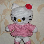 Куклы и игрушки ручной работы. Ярмарка Мастеров - ручная работа Hello Kitty (Китти). Handmade.