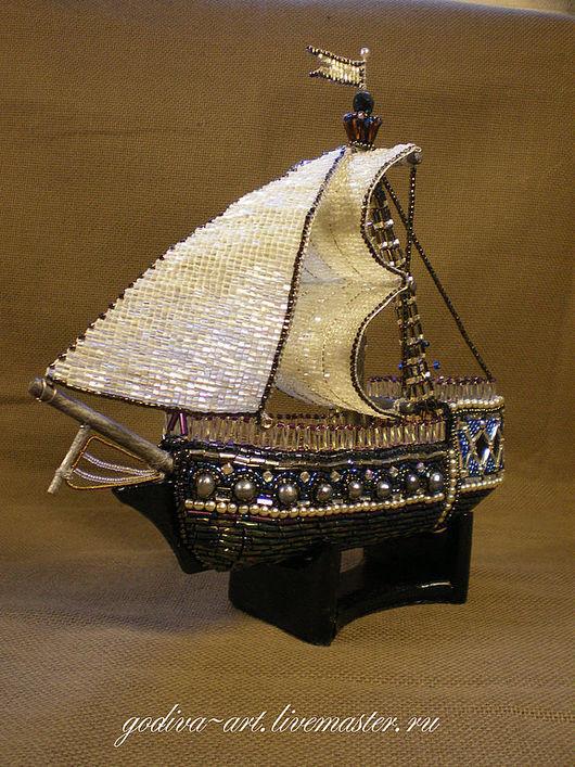 """Подарки для мужчин, ручной работы. Ярмарка Мастеров - ручная работа. Купить Корабль """"Жемчужина Истамбула"""". Handmade. Дорогой подарок, подарок"""