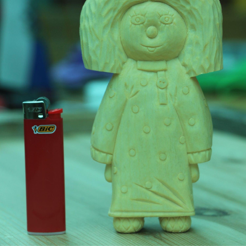 Фигурка из дерева «Домовенок Кузя», Интерьерные венки, Джубга,  Фото №1