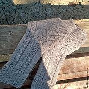 Аксессуары ручной работы. Ярмарка Мастеров - ручная работа Вязаные носки из альпаки\ шерстяные носки. Handmade.