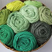 Аксессуары handmade. Livemaster - original item Lightweight cotton scarf-shawl. Handmade.
