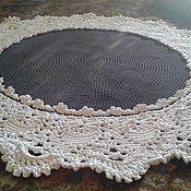 Для дома и интерьера ручной работы. Ярмарка Мастеров - ручная работа черно-белый цветок. Handmade.