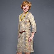 """Одежда ручной работы. Ярмарка Мастеров - ручная работа валяное платье """"Индия"""". Handmade."""