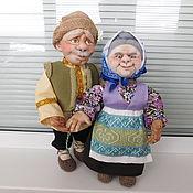 Куклы и игрушки handmade. Livemaster - original item Dolls Grandma and Grandpa. Handmade.