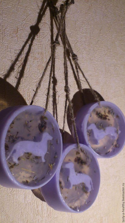Мыло ручной работы. Ярмарка Мастеров - ручная работа. Купить Лавандовая Такса (Мыло сувенирное). Handmade. Сиреневый, мыло сувенирное
