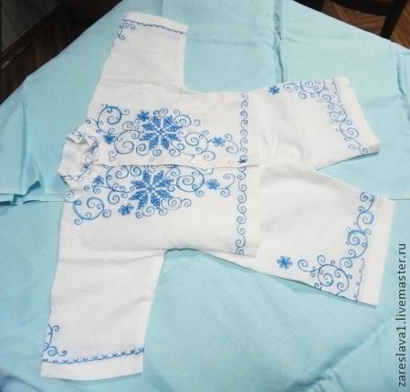 Одежда для мальчиков, ручной работы. Ярмарка Мастеров - ручная работа. Купить Комплект для малыша в синих тонах. Handmade. Голубой, мальчику