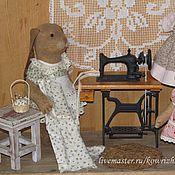 Куклы и игрушки ручной работы. Ярмарка Мастеров - ручная работа Зайчики. Дачные истории. Handmade.