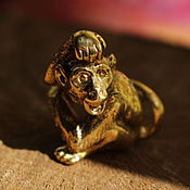 Для дома и интерьера ручной работы. Ярмарка Мастеров - ручная работа Статуэтка обезьянка. Handmade.