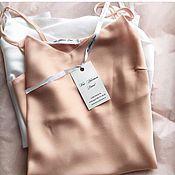 Одежда ручной работы. Ярмарка Мастеров - ручная работа Топ шелковый. Handmade.