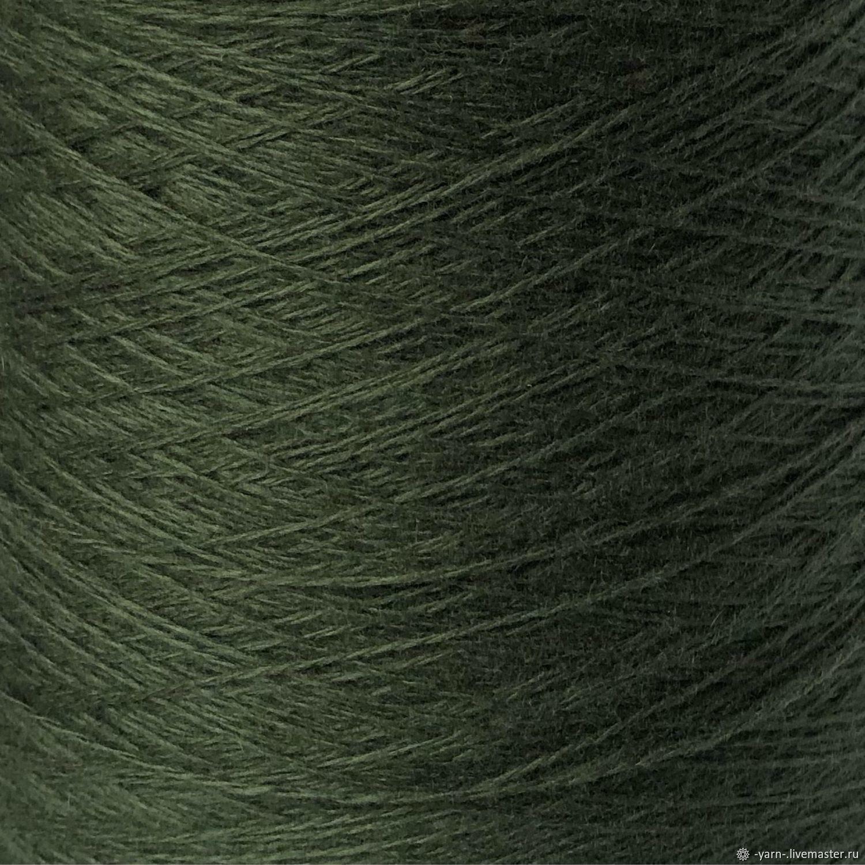 Пряжа Кашемир COARSEHAIR зеленый – купить на Ярмарке Мастеров – NO1MGRU | Пряжа, Санкт-Петербург