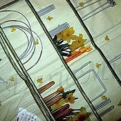 Материалы для творчества ручной работы. Ярмарка Мастеров - ручная работа Нарциссы, органайзер для спиц и крючков. Handmade.