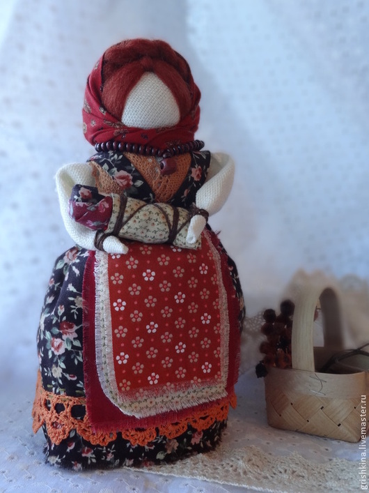 """Народные куклы ручной работы. Ярмарка Мастеров - ручная работа. Купить Игровая кукла """"Девка-баба"""". Handmade. Народная кукла"""
