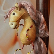 Куклы и игрушки ручной работы. Ярмарка Мастеров - ручная работа лошадка 2014 конь ржачный. Handmade.