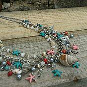#49 Ожерелье по морским мотивам