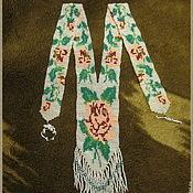 """Украшения ручной работы. Ярмарка Мастеров - ручная работа Гердан """"Волшебная Роза"""". Handmade."""