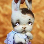 Куклы и игрушки ручной работы. Ярмарка Мастеров - ручная работа Зайка Почемучка. Handmade.