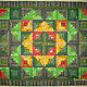 Home Textiles & Carpets handmade. Patchwork quilt'Grass-ant'. Vera Sukhova. Online shopping on My Livemaster. gift