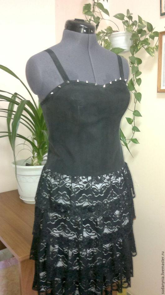 Платья ручной работы. Ярмарка Мастеров - ручная работа. Купить Черное платье-1. Handmade. Черный, черное платье