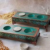 Для дома и интерьера handmade. Livemaster - original item A set of candlesticks