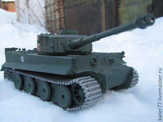 Модель Т-6 Тигр, 1:35 Тамия