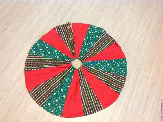 Текстиль, ковры ручной работы. Ярмарка Мастеров - ручная работа. Купить Юбочка под елку. Handmade. Комбинированный, Декор, интерьер