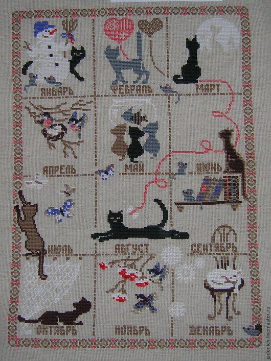 Оригинальная напоминалка для любителей кошек)