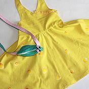 Работы для детей, ручной работы. Ярмарка Мастеров - ручная работа СЫРНОЕ платье для девочки.. Handmade.