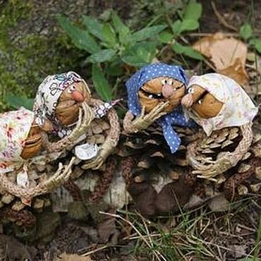 Куклы и игрушки ручной работы. Ярмарка Мастеров - ручная работа Из жизни лесных бабок. Handmade.