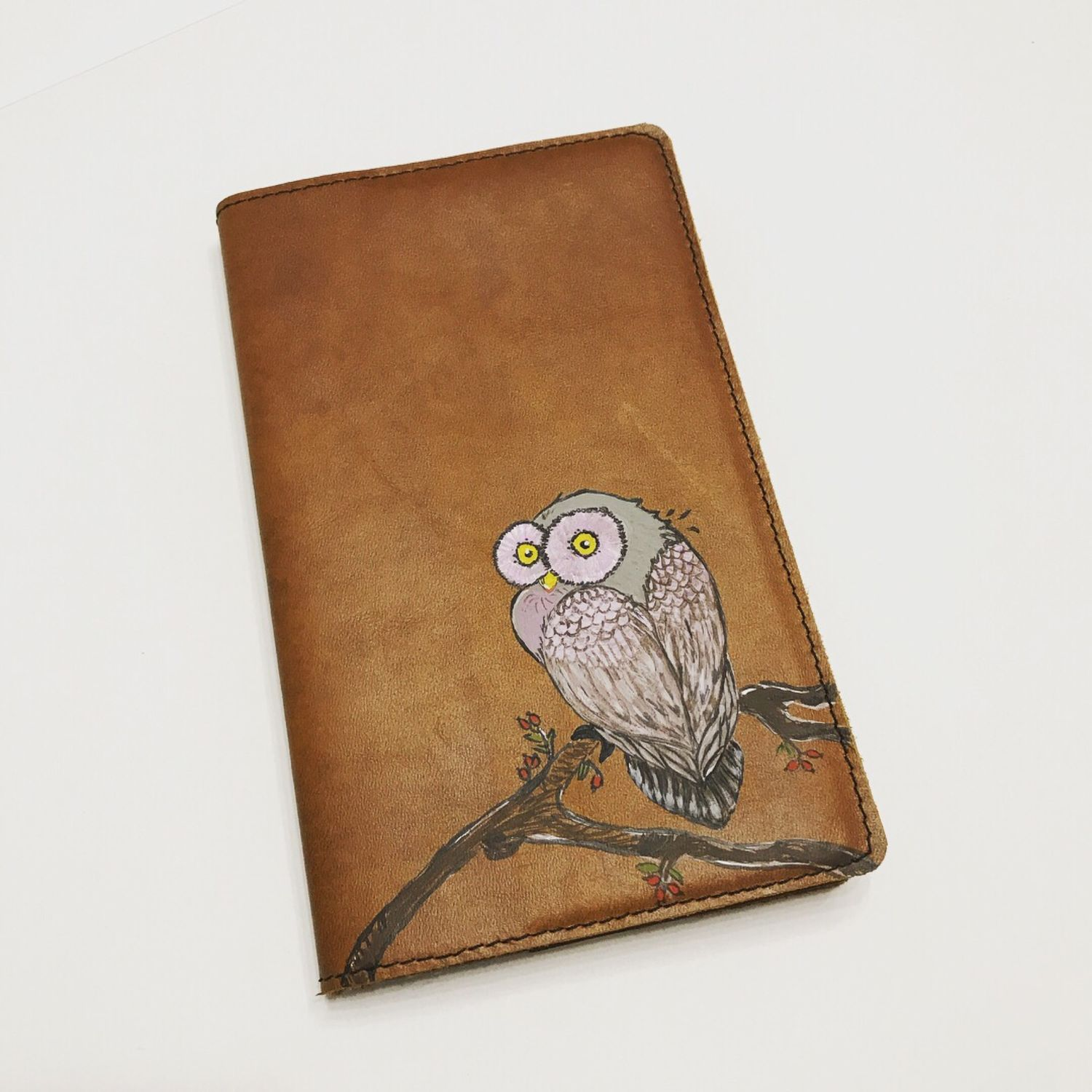 Notebook cover made of genuine leather, Notebook, Armavir,  Фото №1