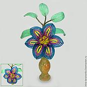 Цветы и флористика handmade. Livemaster - original item clematis bead. Handmade.