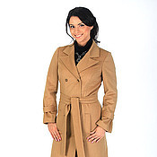 Одежда handmade. Livemaster - original item coat - dark beige. Handmade.