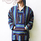 """Одежда ручной работы. Ярмарка Мастеров - ручная работа Толстовка с капюшоном """"Hippie Life"""". Handmade."""