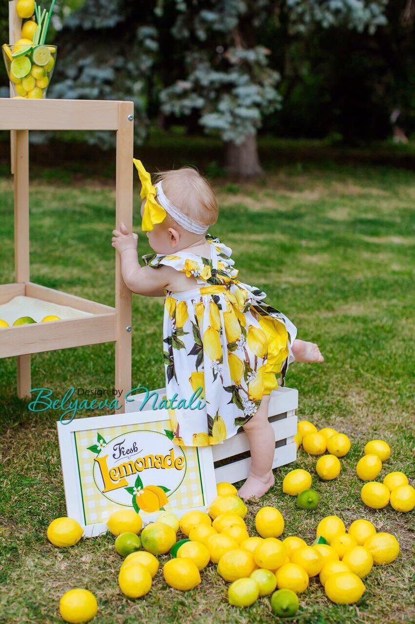 """Комплект для девочки """"Лимончики"""", Комплекты одежды, Балашиха, Фото №1"""