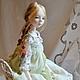 Коллекционные куклы ручной работы. Ярмарка Мастеров - ручная работа. Купить Осень в Провансе. Handmade. Бледно-розовый