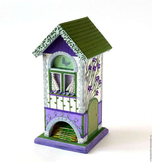 """Кухня ручной работы. Ярмарка Мастеров - ручная работа. Купить Чайный домик """"Прованс"""" Полимерная глина. Handmade. Комбинированный"""