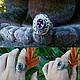 Кольца ручной работы. Ярмарка Мастеров - ручная работа. Купить Кольцо овал с аметистом и цитрином из серебра 925. Handmade.